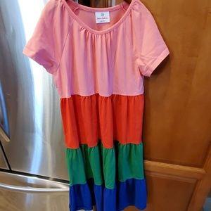 Hanna Anderson rainbow dress size 140/10